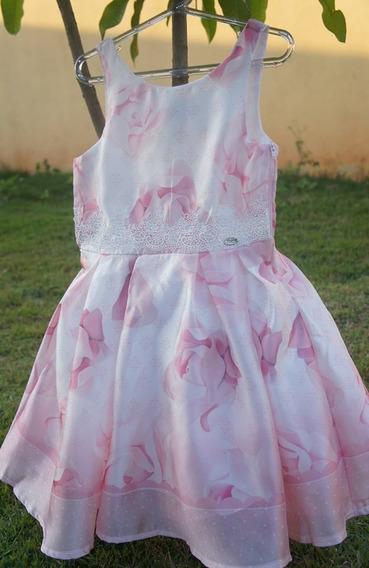 Vestido Infantil De Festa Petit Cherie Rosinha Delicado