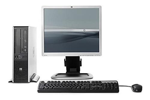 Imagen 1 de 9 de Pc Completa Hp Dual Core 3gb Ram 320gb + Monitor Lcd 17