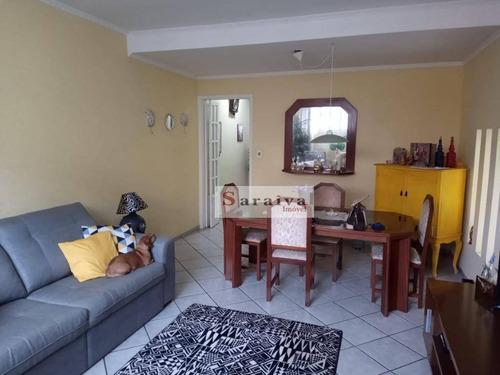 Sobrado Com 3 Dormitórios À Venda Por R$ 680.000 - Vila Floresta - Santo André/sp - So1172