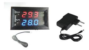 Controle De Temperatura Termostato Digital W2809+ Fonte