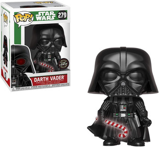 Funko Pop Holiday Darth Vader With Candy Cane Chase