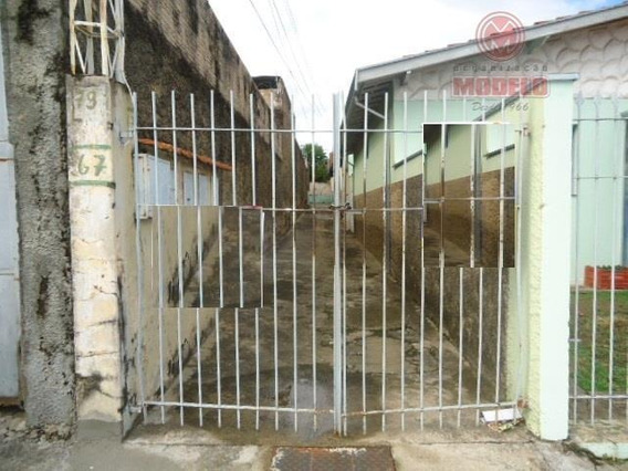 Casa Para Alugar, 80 M² Por R$ 590,00/mês - Paulicéia - Piracicaba/sp - Ca0583
