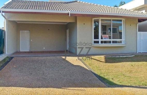 Casa Com 3 Dormitórios À Venda, 204 M² Por R$ 960.000,00 - Condomínio Figueira Branca - Paulínia/sp - Ca7956