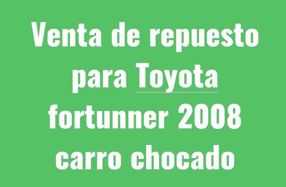 Toyota Fortuner Camioneta Chocada