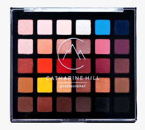 Imagem 1 de 3 de Paleta De Sombras 30 Cores Alta Pigmentação Catharine Hill