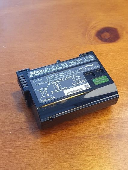Bateria Nikon En-el15 Original - D610, D750, D800, D7000