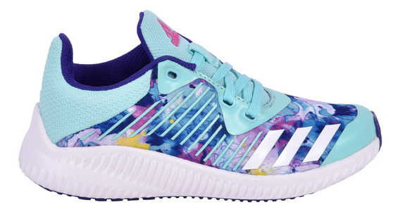 Tenis adidas Fortarun K Azul Kids