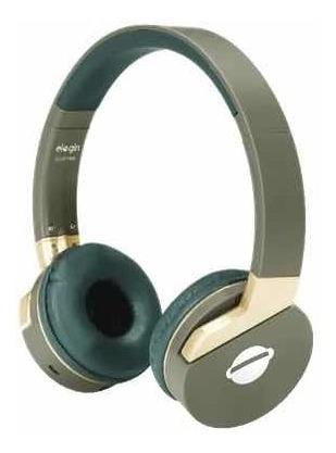 Fone Headphone Elogin Bluethooth Trip - Hb14 Verde
