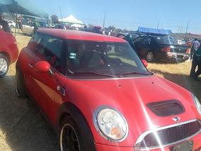 Mini Cooper 1.6 Chili At 2010 Tela/piel Roja