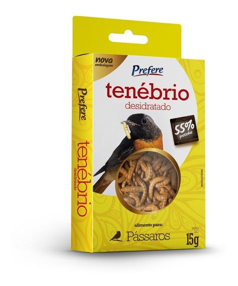 Larvas Tenébrios Desidratado P/ Pássaro Kit 20 Cx Prefere