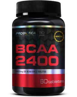 Bcaa 2400 - Probiotica 60 Tabletes