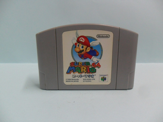 M003 Super Mario 64 - Nintendo 64 - Original - Japonês