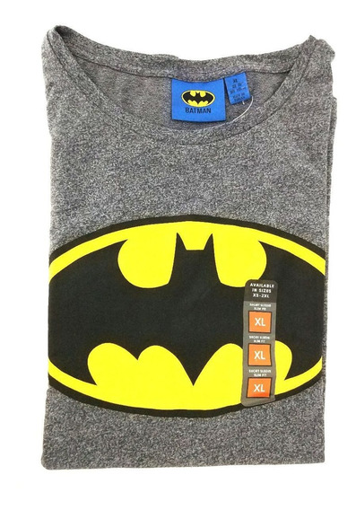 Camisa Masculina Batman Cinza Original