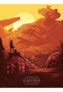 Cuadros Star Wars The Force Awakens - Medida Xl