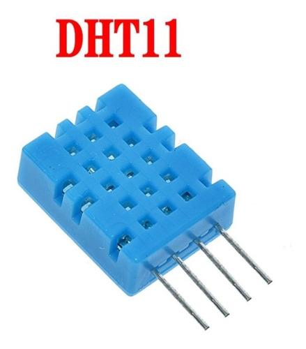 Sensor De Humedad Y Temperatura Dht11 Arduino