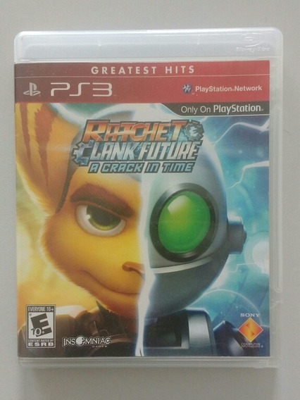 Jogo Ps3 Ratchet & Clank Future - A Crack In Time.