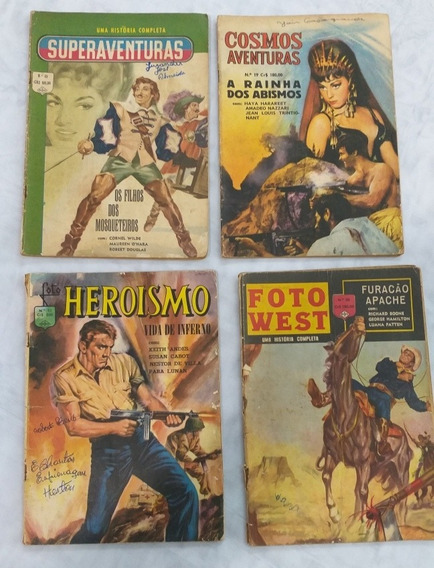 Revista Foto Heroismo,west, Superaventuras, Cosmo Aventuras