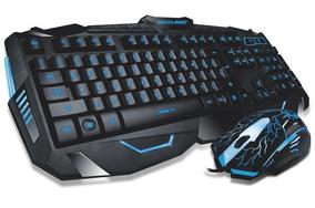 Kit Mouse Lightning + Teclado Gamer Multilaser - Tc19