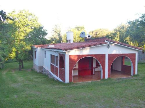 Imagen 1 de 14 de Alquiler Casa Agua De Oro Cerca Del Rio