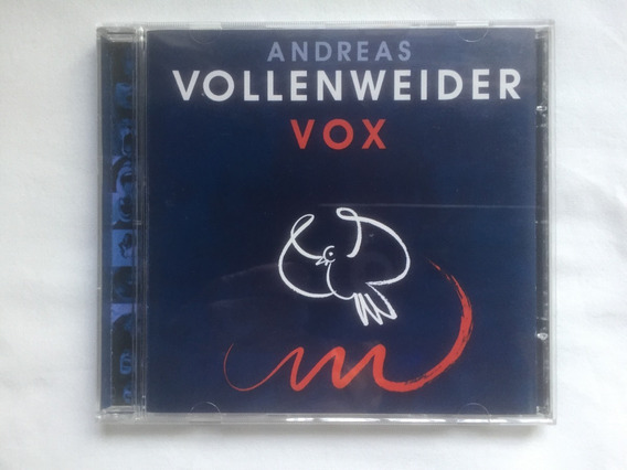 Cd - Andreas Vollenweider - Vox