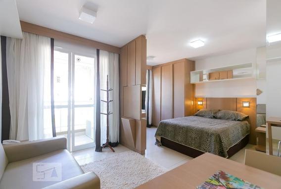 Studio No 2º Andar Mobiliado Com 1 Dormitório E 1 Garagem - Id: 892970892 - 270892