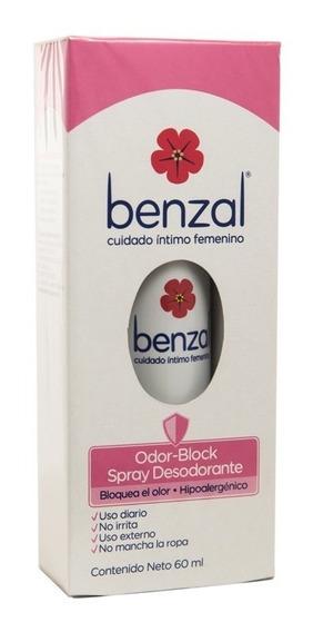 Benzal Desodorante Intimo Femenino 60ml