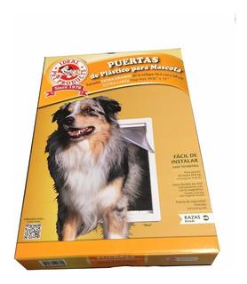 Puerta Plastico Ideal Pet Grande Para Perro O Gato Casa