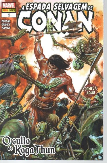 A Espada Selvagem De Conan 1 - Panini - Bonellihq Cx436 K19