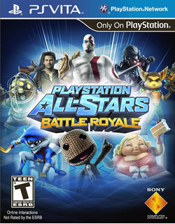 Playstation All Stars Battle Royal - Ps Vita