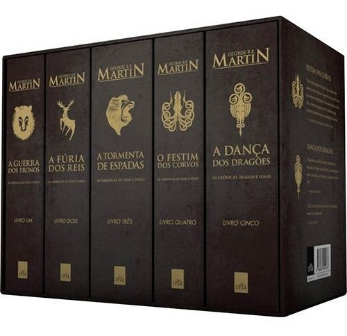Box As Crônicas De Gelo E Fogo - Ed. Pocket