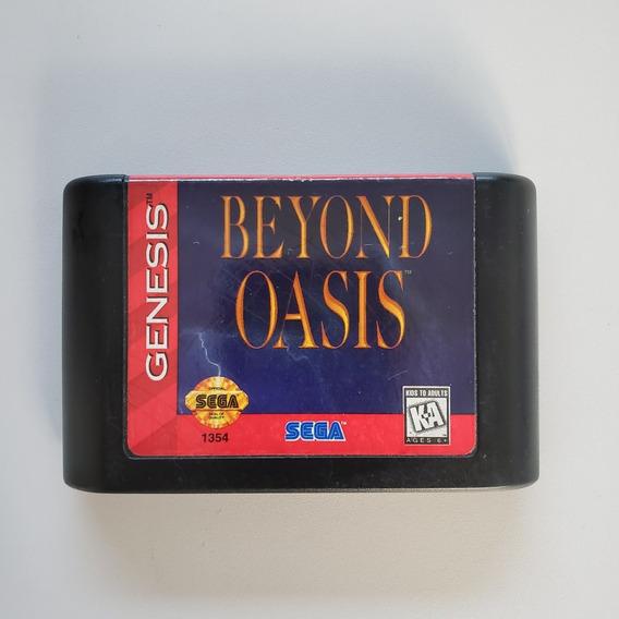 Beyond Oasis Mega Drive Original Sega Genesis