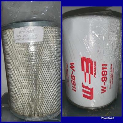 Filtro De Aire Y Aceite Para Nkr, Npr O Nhr