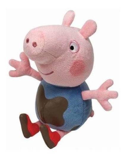 Peppa Pig Pelúcia 20cm - George Lama - Original Dtc