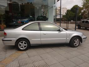 Honda Civic Coupe Gris 2000 Ex Manual