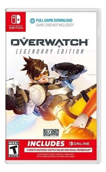Overwatch Legendary Edition - Switch Lacrado