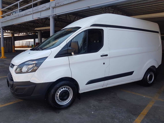 Ford Transit 2.2 Van Larga Techo Alto Aa Custom Mt 2018
