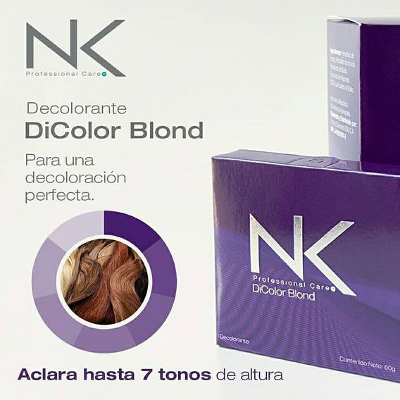Decolorante Polvo Nk Di Color Blond 60 G