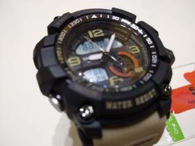 Relógio Militar Smael S-shock Masculino Prova D