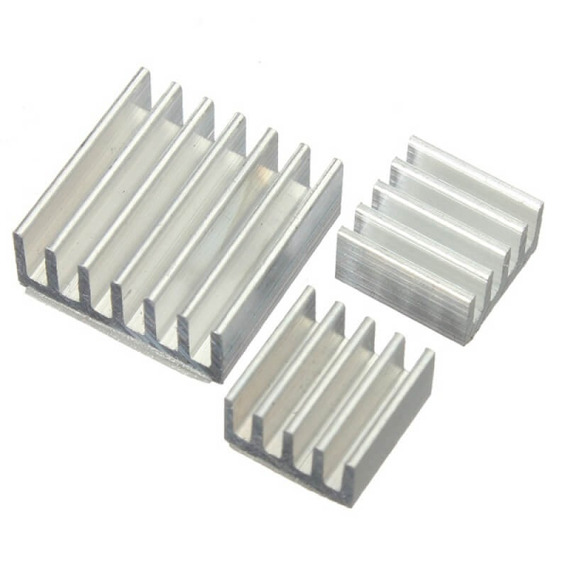 Kit Dissipador De Calor Raspberry Pi 3, Pi 2, Modelo B E B+