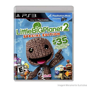 Little Big Planet 2 Special Edition - Ps3 - Mídia Física