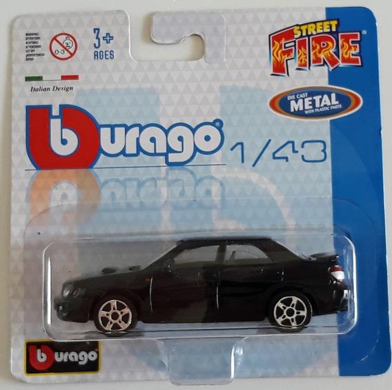Burago Street Fire - Subaru Imprenza Wrx S11 - Escala 1/43