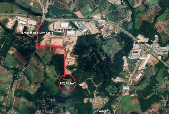 Área Empresarial Próximo Dom Pedro I Jarinu Atibaia