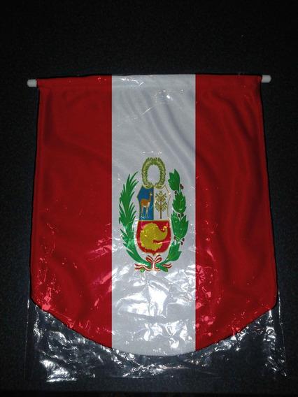 Combo X4 Banderin Grande Perú Ecuador Y Paraguay Argentina