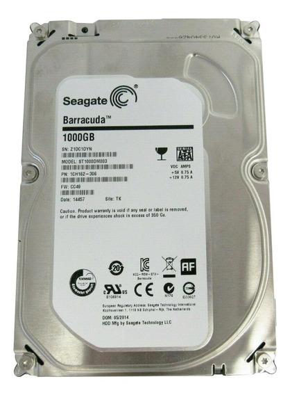 Disco rígido interno Seagate Barracuda ST1000DM003 1TB