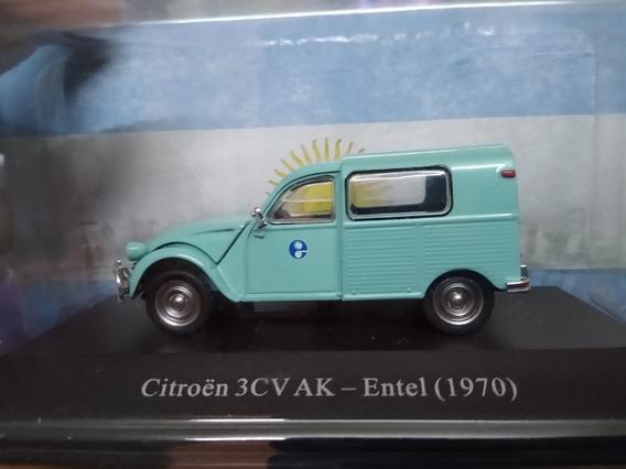 Autos Inolvidables De Reparto Y Servicio 2 Citroen 3cv Ak