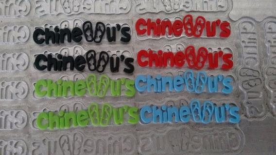 Logomarcas Personalizada Tiras De Chinelo + 1000 Etiquetas