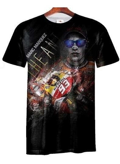 Remera Marc Marquez Ranwey Moto007 Talle Xs