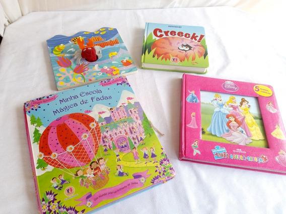 Livros De Histórias Infantis Pop Up Disney E Outros - Leia