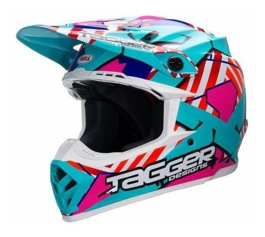 Capacete Bell - Moto 9 Tagger Truoble - 59