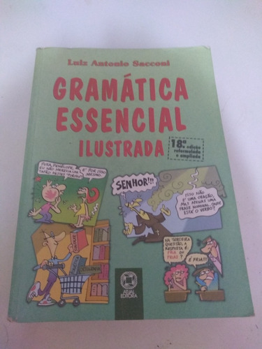 Imagem 1 de 10 de Gramatica Essencial Ilustrada
